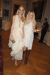 Left to right, POPPY DELEVIGNE and ELLIE SHEPHERD at the Quintessentially Summer Party at the Wallace Collection, Manchester Square, London on 6th June 2007.<br />
