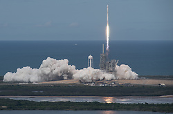 The SpaceX Falcon 9 rocket, with the Dragon spacecraft onboard, launches from pad 39A at NASA's Kennedy Space Center in Cape Canaveral, Florida, Saturday, June 3, 2017. Dragon is carrying almost 6,000 pounds of science research, crew supplies and hardware to the International Space Station in support of the Expedition 52 and 53 crew members. The unpressurized trunk of the spacecraft also will transport solar panels, tools for Earth-observation and equipment to study neutron stars. This will be the 100th launch, and sixth SpaceX launch, from this pad. Previous launches include 11 Apollo flights, the launch of the unmanned Skylab in 1973, 82 shuttle flights and five SpaceX launches. Photo Credit: (NASA/Bill Ingalls)