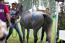 Maria Alvarez Ponton, (ESP), Qualif Du Poncelet<br /> Endurance - Alltech FEI World Equestrian Games™ 2014 - Normandy, France.<br /> © Hippo Foto Team - Jantien Van Zon