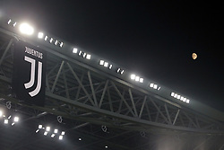 October 20, 2018 - Turin, Turin, Italy - The moon is seen over the Allianz Stadium during the serie A match between Juventus FC and Genoa CFC at Allianz Stadium on October 20, 2018 in Turin, Italy. (Credit Image: © Giuseppe Cottini/NurPhoto via ZUMA Press)