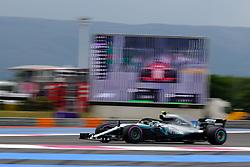 June 23, 2018 - Le Castellet, Var, France - Mercedes 77 Driver VALTTERI BOTTAS (FIN) in action during the Formula one French Grand Prix at the Paul Ricard circuit at Le Castellet - France. (Credit Image: © Pierre Stevenin via ZUMA Wire)