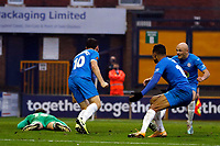 Connor Jennings. Stockport County FC 3-2 Yeovil Town FC. Emirates FA Cup Second Round. Edgeley Park. 29.11.20