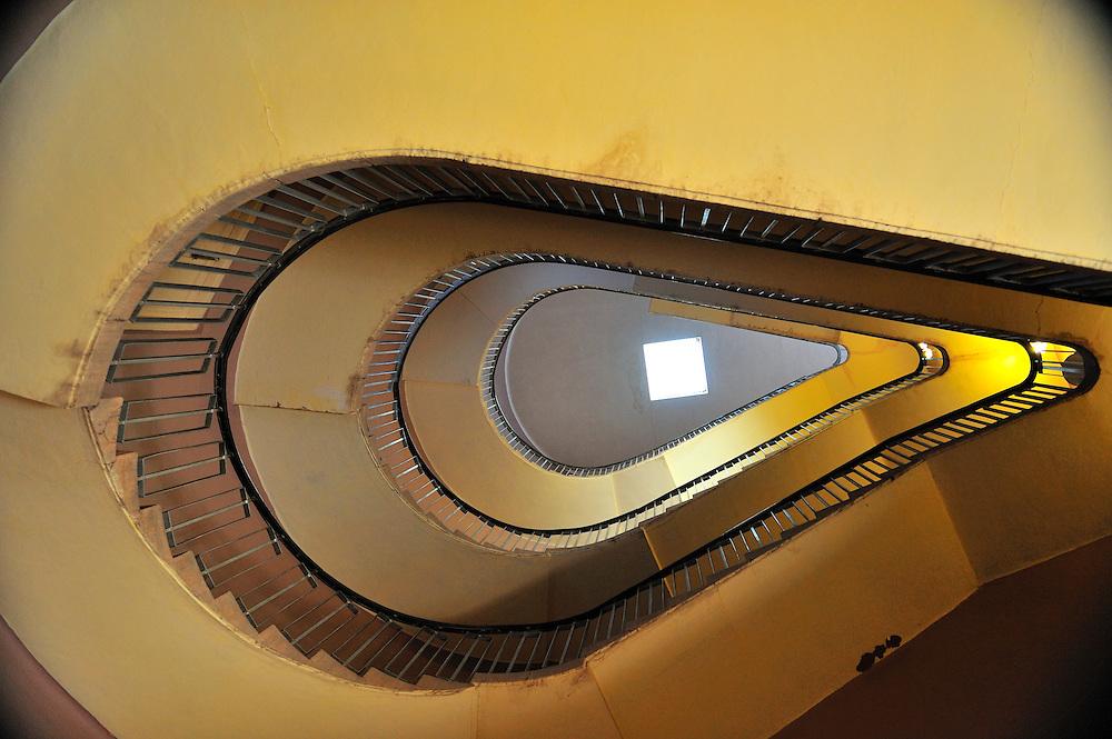 The stair case inside Jodphur's Mehrangarh Fort