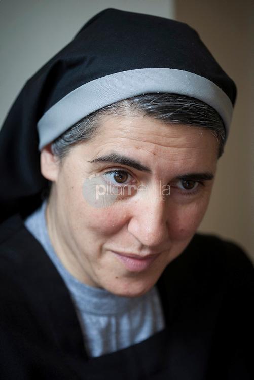 Teresa Forcades, free thinking nun. ©Hugo Fernandez Alcaraz / PILAR REVILLA