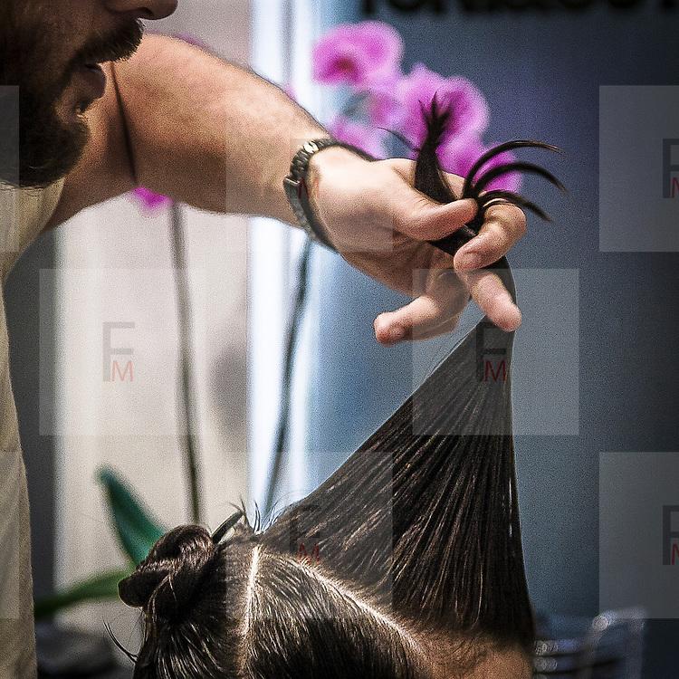 Salone di parrucchiere da donna