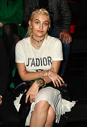 Paris Jackson attends the Dior Homme Menswear Fall/Winter 2017-2018 show as part of Paris Fashion Week on January 21, 2017 in Paris, France. Photo by Laurent Zabulon/ABACAPRESS.COM
