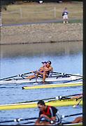 Sydney. AUSTRALIA. 2000 Summer Olympic Regatta, Penrith. NSW.  <br /> <br /> SLO M2X. Gold Medalist:  <br /> Bow. Luka SPIK, and Iztok<br /> COP, <br /> <br /> [Mandatory Credit Peter SPURRIER/ Intersport Images] Sydney International Regatta Centre (SIRC) 2000 Olympic Rowing Regatta00085138.tif