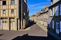 France, Manche (50), Cotentin, Barfleur, labellisé Les Plus Beaux Villages de France // France, Normandy, Manche department, Cotentin, Barfleur, labeled Les Plus Beaux Villages de France