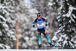 March 9, 2019 - –Stersund, Sweden - 190309 Antonin Guigonnat of France competes in the Men's 10 KM sprint during the IBU World Championships Biathlon on March 9, 2019 in Östersund..Photo: Petter Arvidson / BILDBYRÃ…N / kod PA / 92252 (Credit Image: © Petter Arvidson/Bildbyran via ZUMA Press)