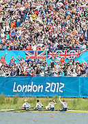Eton Dorney, Windsor, Great Britain,..2012 London Olympic Regatta, Dorney Lake. Eton Rowing Centre, Berkshire.  Dorney Lake.  ...12:16:21  Saturday  04/08/2012 [Mandatory Credit: Peter Spurrier/Intersport Images]