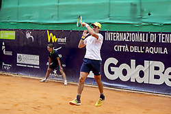 June 23, 2018 - L'Aquila, Italy - Facundo Bagnis during match between Facundo Bagnis (ARG) and Guilherme Clezar (BRA) during Men Semi-Final match at the Internazionali di Tennis Città dell'Aquila (ATP Challenger L'Aquila) in L'Aquila, Italy, on June 23, 2018. (Credit Image: © Manuel Romano/NurPhoto via ZUMA Press)