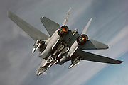 F-14B with full Phoenix loadout