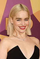"""Lena Dunham and Jennifer Konner at HBO's """"Golden Globe Awards"""" After Party held at the Beverly Hilton Hotel on January 7, 2018 in Beverly Hills, CA. Janet Gough/AFF-USA.com. 07 Jan 2018 Pictured: Emilia Clarke. Photo credit: MEGA TheMegaAgency.com +1 888 505 6342"""