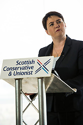 Pictured: Ruth Davidson<br /> <br /> Today Scottish Conservative leader Ruth Davidson delivered a speech in Edinburgh urging the Scottish Government to adopt new Tory policies to promote economic growth rather than resurrect their independence campaign<br /> <br /> Ger Harley   EEm 23 August 2016