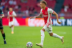 Noa Lang of Ajax in action during eredivisie round 02 between Ajax and RKC at Johan Cruyff Arena on September 20, 2020 in Amsterdam, Netherlands