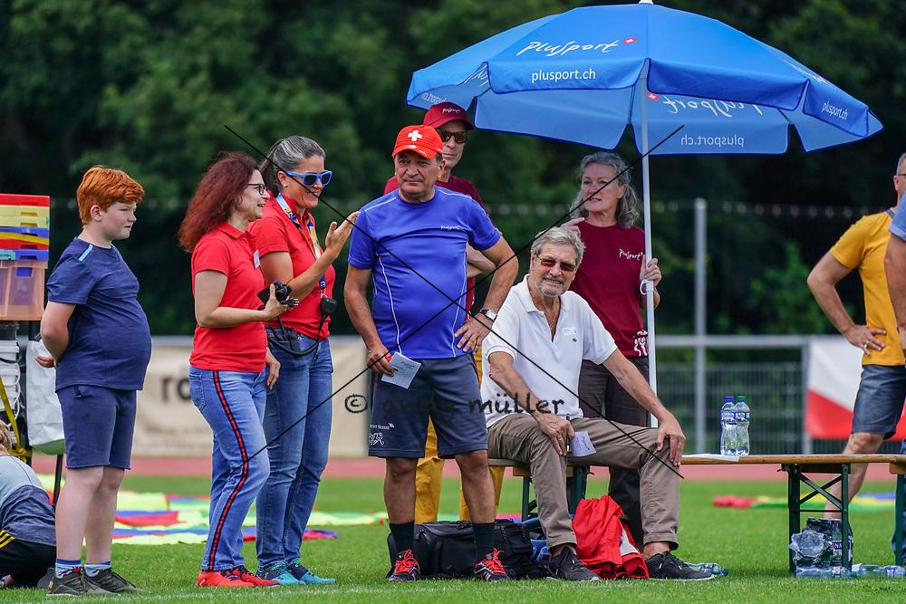 07.07.2019; Magglingen; Plusport-Tag;<br /> Trainer Luigi Ponte (Suisse Legends) <br /> (Andy Mueller/freshfocus)