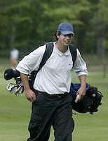ARNHEM - Dirk vd Weert.  Voorjaarswedstrijden Golf heren op de Rosendaelsche Golfclub COPYRIGHT KOEN SUYK