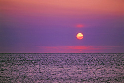 Arctic Ocean Sunset