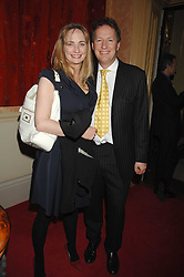 ORLANDO FRASER and his wife CLEMENTINE at the engagement party of Vanessa Neumann and William Cash held at 16 Westbourne Terrace, London W2 on 15th April 2008.<br /><br />NON EXCLUSIVE - WORLD RIGHTS