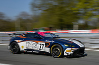 #11 Kelvin Fletcher / Martin Plowman Beechdean AMR Aston Martin V8 Vantage GT4 Pro/Am GT4  during British GT Championship - Rounds 1 & 2  as part of the British F3 / GT Championship meeting at Oulton Park, Little Budworth, Cheshire, United Kingdom. April 19 2019. World Copyright Peter Taylor/PSP. Copy of publication required for printed pictures.