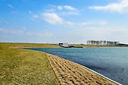 Nederland, Zeeland, Noord-Beveland, 16-03-2016; Kats, Zandkreekdam.<br /> <br /> copyright foto/photo Siebe Swart