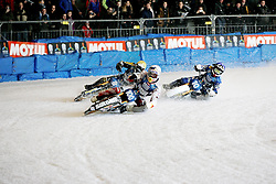 13.03.2016, Assen, BEL, FIM Eisspeedway Gladiators, Assen, im Bild Franz Zorn (AUT), Ove Ledstroem (SWE), Niklas Kallin Svensson (SWE) // during the Astana Expo FIM Ice Speedway Gladiators World Championship in Assen, Belgium on 2016/03/13. EXPA Pictures © 2016, PhotoCredit: EXPA/ Eibner-Pressefoto/ Stiefel<br /> <br /> *****ATTENTION - OUT of GER*****
