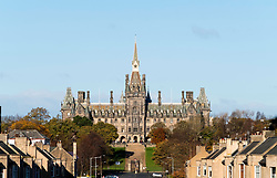 View of Fettes College in Edinburgh, Scotland, United Kingdom