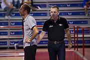 DESCRIZIONE : Ferentino LNP A2 2015-16 FMC Ferentino Acea Roma<br /> GIOCATORE : Guido Saibene<br /> CATEGORIA : pre game riscaldamento allenatore coach<br /> SQUADRA : Acea Roma<br /> EVENTO : Campionato LNP A2 2015-2016<br /> GARA : FMC Ferentino Acea Roma<br /> DATA : 11/10/2015<br /> SPORT : Pallacanestro <br /> AUTORE : Agenzia Ciamillo-Castoria/G.Masi<br /> Galleria : LNP A2 2015-2016<br /> Fotonotizia : Ferentino LNP A2 2015-16 FMC Ferentino Acea Roma