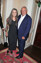JOHNNY GOLD and KOO STARK at Ambassador Earle Mack's 60's reunion party held at The Ritz Hotel, London on 18th June 2012.