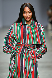 Naomi Campbell walks the runway during the Kenneth Ize show as part of Paris Fashion Week Womenswear Fall/Winter 2020/2021 on February 24, 2020 in Paris, France. Photo by Alain Gil-Gonzalez/ABACAPRESS.COM