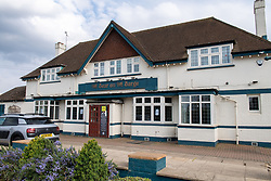© Licensed to London News Pictures. 01/05/2021. London, UK. An exterior view of The Bear on the Barge pub. Police were called at 01:18 BST on Saturday 01/05/2021 to reports of a collision at Moorhall Road, Uxbridge. Officers and London Ambulance Service attended. At the scene a car had collided with a group of pedestrians in the carpark of a public house. Two people were taken to hospital for treatment to injuries that were not life threatening. Photo credit: Peter Manning/LNP