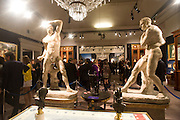 Preview party for the Versace Sale.  The contents of fashion designer Gianni Versace's villa on Lake Como. Sothebys. Old Bond St. London. 16 March 2009.  *** Local Caption *** -DO NOT ARCHIVE -Copyright Photograph by Dafydd Jones. 248 Clapham Rd. London SW9 0PZ. Tel 0207 820 0771. www.dafjones.com<br /> Preview party for the Versace Sale.  The contents of fashion designer Gianni Versace's villa on Lake Como. Sothebys. Old Bond St. London. 16 March 2009.