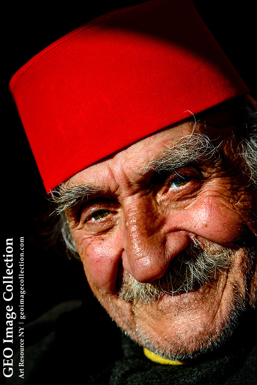 Outside the Chora Church, a former Byzantine church and later Ottoman mosque, an elderly Turkish man sports a fez cap that was once a symbol of Ottoman modernity, but later banned in 1925 the reformist leader Mustafa Kemal Atatürk.