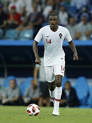 William Carvalho of Portugal during the 2018 FIFA World Cup Russia round of 16 match between Uruguay and at the Fisht Stadium on June 30, 2018 in Sochi, Russia