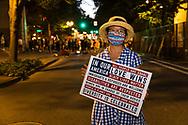 Portland Protests in downtown Portland, Oregon. Molly Lee, mollyleecraig@gmail.com
