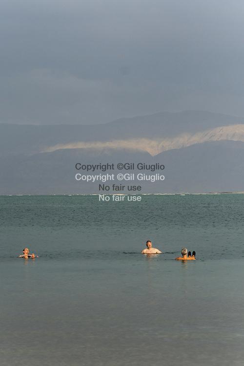 Israel, South District, Dead Sea side // Israël, District Sud, rivage de la Mer morte