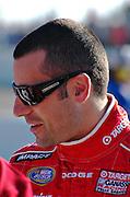 Dario Franchitti before the NASCAR race Memphis Motorsports Park 2007.