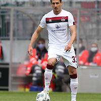 nph0001:  17.05.2020 --- Fussball --- Saison 2019 2020 --- 2. Fussball - Bundesliga --- 26. Spieltag: FC Sankt Pauli - 1. FC Nürnberg ---   DFL regulations prohibit any use of photographs as image sequences and/or quasi-video - Only for editorial use ! --- <br /> <br /> Georg Margreitter (33, 1. FC Nürnberg ) <br /> <br /> Foto: Daniel Marr/Zink/Pool//via Kokenge/nordphoto