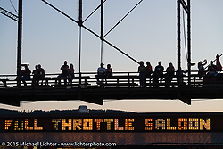 Full Throttle Saloon during the 75th Annual Sturgis Black Hills Motorcycle Rally.  SD, USA.  August 1, 2015.  Photography ©2015 Michael Lichter.