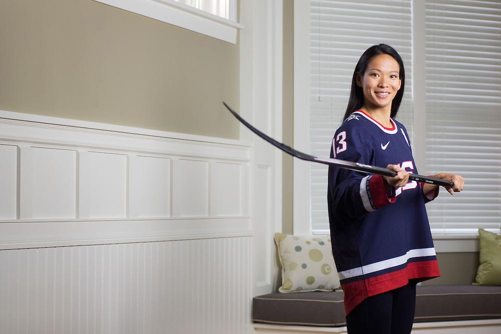 Julie Chu, four time Olympian