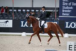 Gémes Barnabas, HUN, Jamiroquai<br /> Longines FEI/WBFSH World Breeding Dressage Championships for Young Horses - Ermelo 2017<br /> © Hippo Foto - Dirk Caremans<br /> 04/08/2017