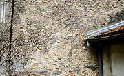 Dode takken aan muur - Dead twigs fixed to a wall