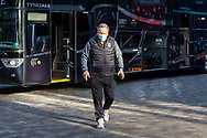 Middlesbrough manager Neil Warnock arrives at the Brentford Community Stadium before the EFL Sky Bet Championship match between Brentford and Middlesbrough at Brentford Community Stadium, Brentford, England on 7 November 2020.
