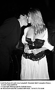 Lord Durham & Lady Liza Campbell. Mandair Ball. Campden Palace. 5/12/83. Film 83899f30<br />