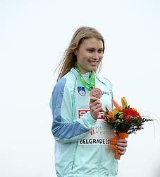 08-12-2013 ATHLETICS: SPAR EC CROSS COUNTRY: BELGRADE<br /> Junior women 4 km / Marusa Mismas SLO<br /> Foto: Ronald Hoogendoorn / Sportida