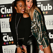 Tina T, HunnyB attend BBC Club at W12 Studios Lunch party on 14 March 2019, London, UK.