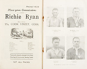 Munster Minor and Senior Hurling Championship Final,held at Croke Park, Dublin, Ireland.<br />