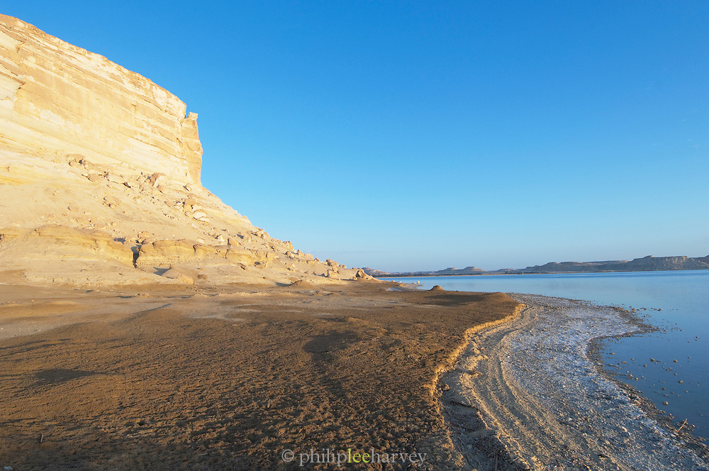 Cliffs at the Siwa Oasis in the Matruh Governorate, Egypt