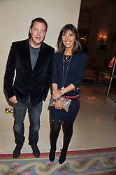 MATTHEW FREUD and HENRIETTA CONRAD at Tatler's Jubilee Party in association with Thomas Pink held at The Ritz, Piccadilly, London on 2nd May 2012.