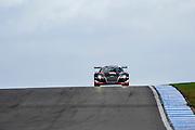 2012 FIA GT1 World Championship.Donington Park, Leicestershire, UK.27th - 30th September 2012.Laurens Vanthoor / Adam Carroll, Audi R8 LMS..World Copyright: Jamey Price/LAT Photographic.ref: Digital Image Donington_FIAGT1-17626